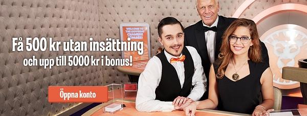 Skattefria vinster på Live casino