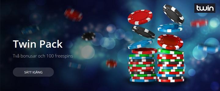Twin Casino bonusar och 100 free spins
